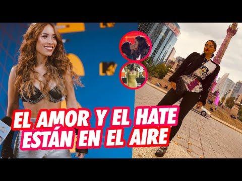 Don Fabio Legarda le Pide a Luisa que agradezca a Legarda el premio, Gran beso en los MTV MIAW2019