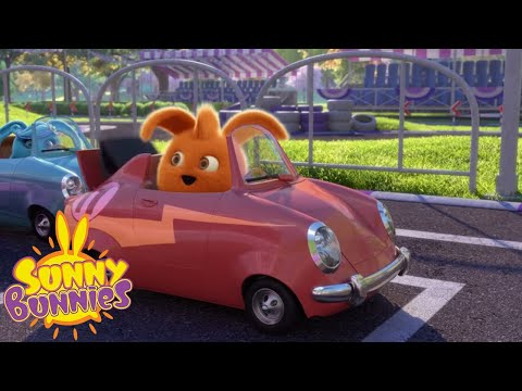 Cartoons For Children | SUNNY BUNNIES - LITTLE RACERS | Sunny Bunnies New Episode