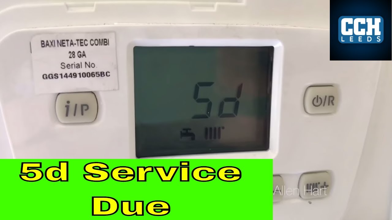 hight resolution of baxi neta tec how to reset service mode sd 5d on the display