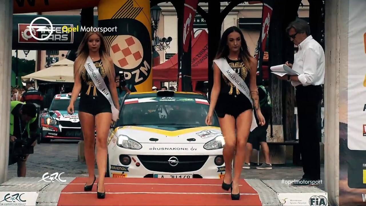Opel Motorsport Worldwide | Best of Rally Rzeszów, Poland | FIA ERC ...