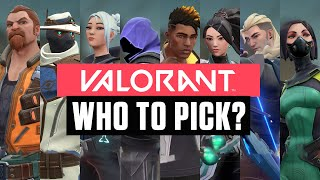 VALORANT: EVERY AGENT & ABILITIES (ft. CouRage, BrookeAB and More)