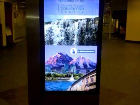 Interactive Way Finding Kiosks Canada