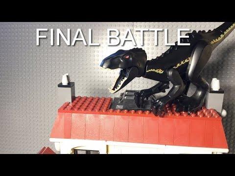 LEGO JURASSIC WORLD FALLEN KINGDOM FINAL BATTLE