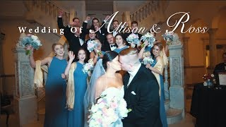 Allison and Ross Wedding Video