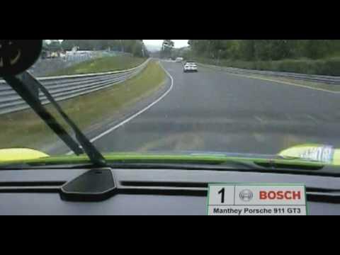 #1Manthey Porsche 911 GT3 RSR Nordschleife Onboard 24h Rennen