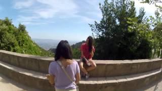 Путевые Заметки. Испания, июнь 2013: поездка на фуникулере на гору Монсеррат у Барселоны(Подъем в гору, к монастырю - смотрите в этом видео - https://youtu.be/FFsiRAIQJV8?list=PLB5YmwQw0Jl9KmyVpNmI4t3sGVF04raRJ Как получить вид..., 2017-02-04T07:58:34.000Z)