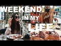 Driving Troubles, Watching IT, Grocery Shopping || WEEKEND IN MY LIFE