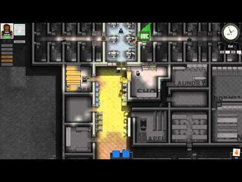 prison architect escape mode how to eat