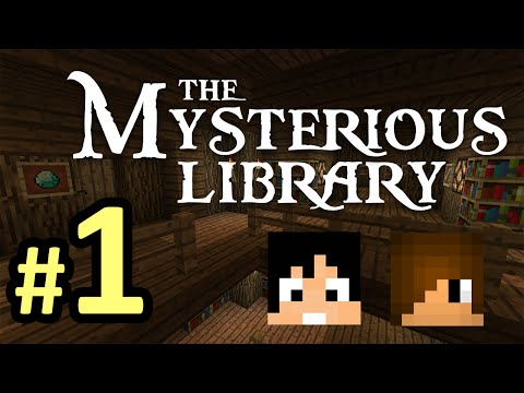 Tackle⁴⁸²⁶ Minecraft Custom Map - The Mysterious Library ห้องสมุดลึกลับ #1