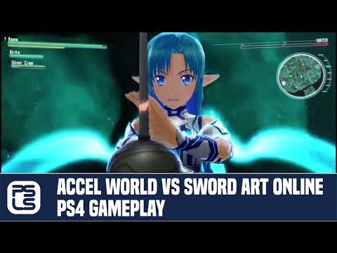 Accel World VS Sword Art Online PS4 Gameplay
