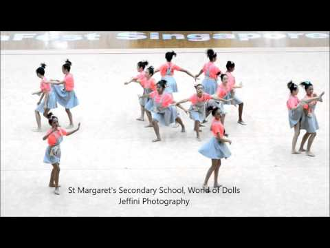 GymFest Singapore 2015  St Margaret Girls' Secondary School, World of Dolls by Jeffini Photography