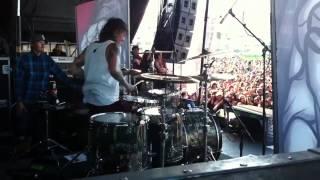 Mike Fuentes, Pierce The Veil Warped Tour SF 2012