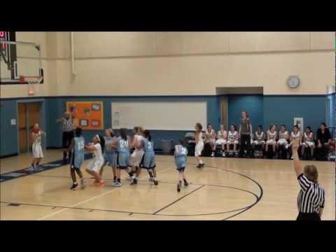 Ronald Reagan Middle Schools Girls JV-Varsity Highlights 2012-13