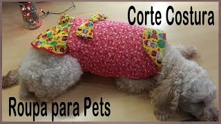 Roupinha para Cachorro – Roupa para Pet – Patchwork