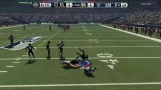 3 Interceptions For Earl Thomas III In First Half  [Madden 16]