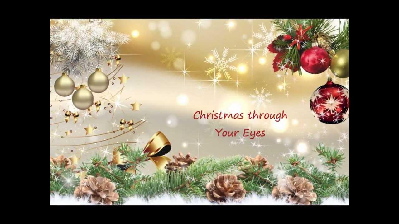 Christmas through Your Eyes - Gloria Estefan - YouTube