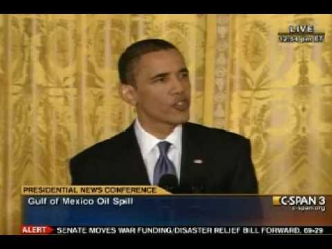 Pr. Obama Gulf Spill (1) Press Conference