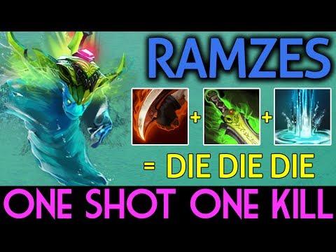 RAMZES Dota 2 [Morphling] One Shot One Kill
