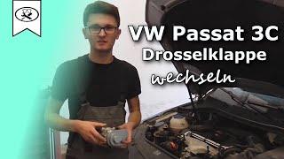 VW 2.0 Passat 3C Drosselklappe wechseln  |  Switch throttle  |  VitjaWolf | Tutorial | HD