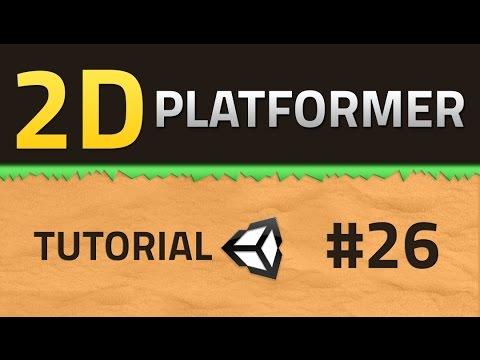 26  How to make a 2D Platformer - SOUND - Unity Tutorial