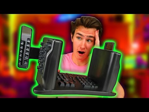 Thumbnail: Try To Find a Weirder Keyboard...
