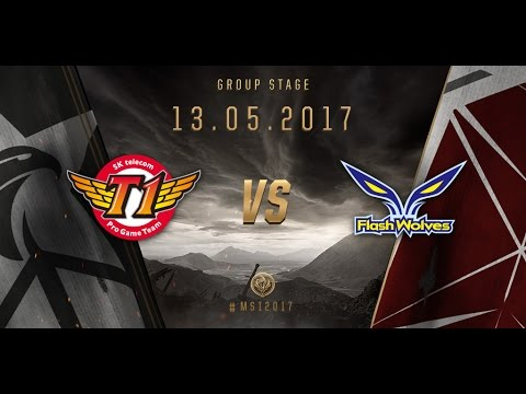 [13.05.2017] SKT vs FW [MSI 2017][Group Stage]