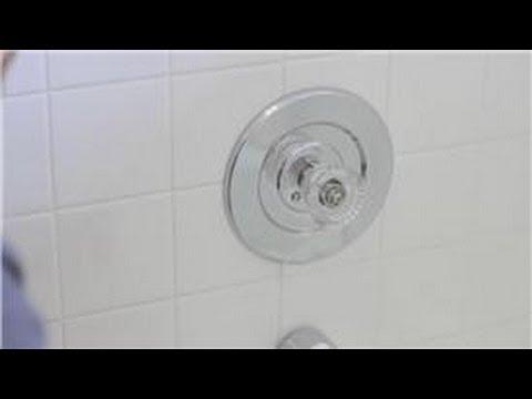 faucet repair how to remove a single handle bath shower faucet