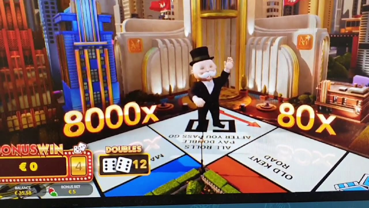 Big Win Monopoly Live