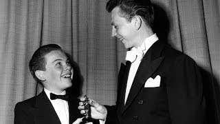 Jean Hersholt and Bobby Driscoll receiving Special Awards