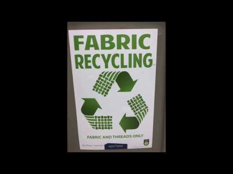 Fabric Recycling Commercial Kent State Visuals 2018