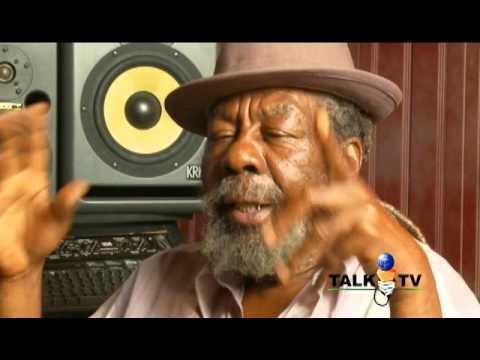 Daddy U-Roy Reggae Artiste Sits in Empress' Studio  with EMPREZZ