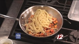 Cooking: Autumn Spaghetti And Roasted Butternut Squash