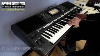 Korg Pa1000 vs. Yamaha PSR-S970 - Sounds Comparison
