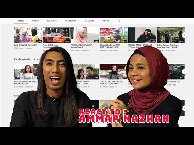 Petch & Nasha React: Video Ammar Nazhan