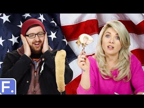 Irish People Taste Test Weird American Food Inventions
