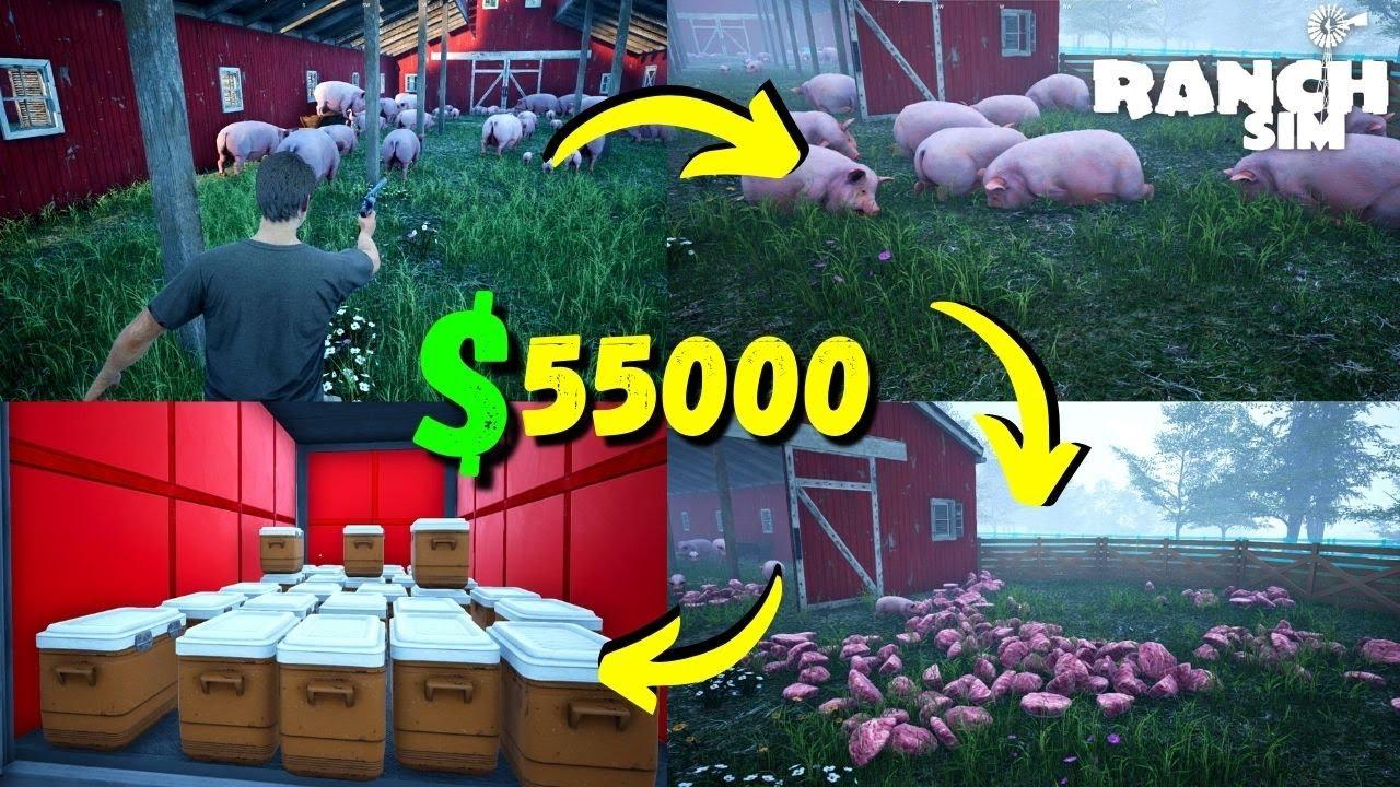 700k$ In 1 Week Challenge - Ranch Simulator - PART 72 (HINDI) 2021