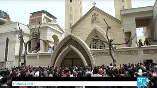 Egypt  Coptic Christians in mourning after IS Group twin church bombings