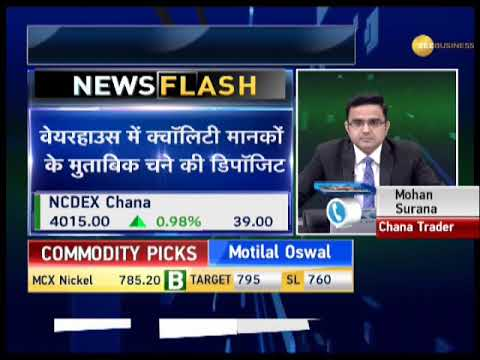 Commodities Live: Buy natural gas, nickel while sell zinc