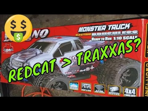 RedCat Racing Volcano EPX Pro Unboxing And First Run!