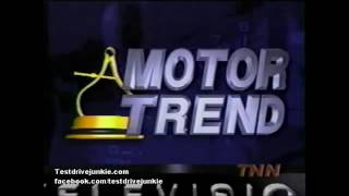 """1998 Motor Trend Tv Archive: Lexus Gs """"Import of The Year"""""""