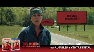 TRES ANUNCIOS EN LAS AFUERAS | Ya en Blu-Ray™, DVD, y en Alquiler y Venta Digital