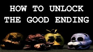 How To Get The Good Ending In FNAF 3 (All Minigames/Easter Eggs!) | Five Nights at Freddy's 3