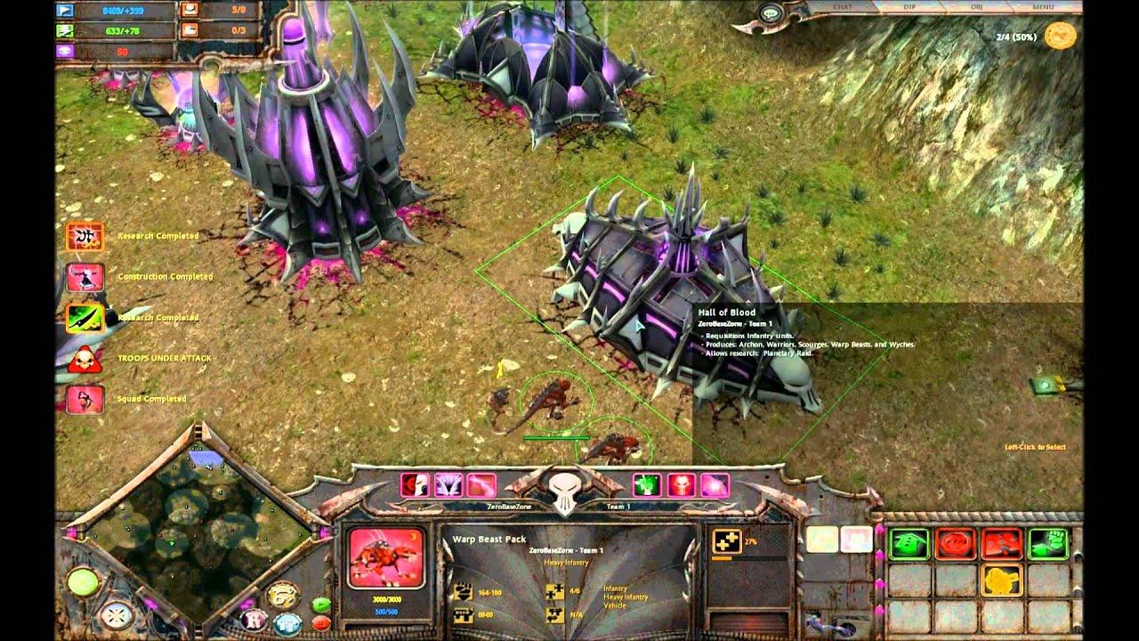 Total War Warhammer Wallpaper Hd Warhammer 40k Dawn Of War Soulstorm Gameplay Hd Youtube