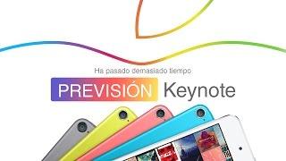 Nuevos iPod Touch 6G en la Keynote