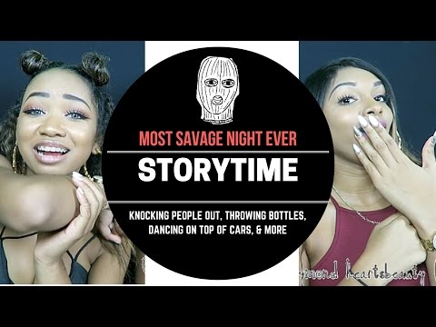 download SAVAGE NIGHT STORYTIME + LIVE FOOTAGE: Knocking People Out
