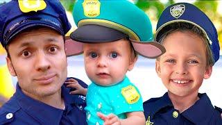 Die Polizei   Deutsche Kinderlieder   Maya und Mary