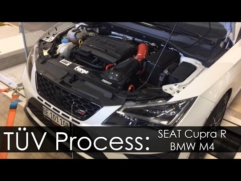 GIAC x Sabato Performance: SEAT Cupra R and BMW M4 TUV Process