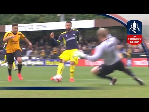 Merstham 0-5 Oxford United - Emirates FA Cup 2016/17 (R1) | Goals & Highlights