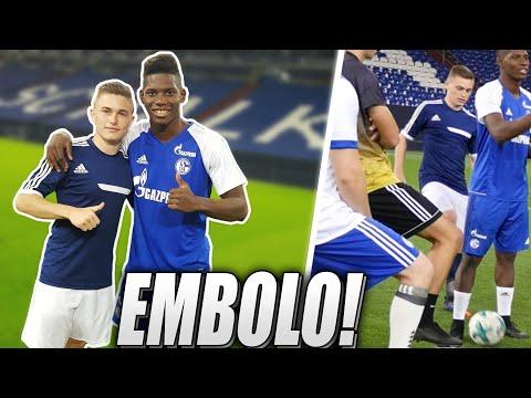 Fußballprofi getroffen! Videodreh mit Breel Embolo, Freekickerz & PMTV 😱⚽️
