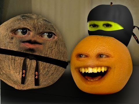 Annoying Orange - Kung Fruit (Ft. Shane Dawson)